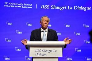 "Defence Minister Ng Eng Hen was speaking at a session on the topic ""Ensuring a Resilient and Stable Region"" on the final day of the Shangri-La Dialogue, which had opened on Friday."
