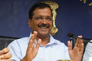 Delhi Chief Minister Arvind Kejriwal announced free public transport for women in the capital city over 'safety' concerns at a press conference on June 3, 2019.