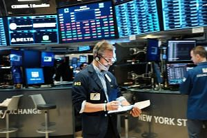 Traders on the floor of the New York Stock Exchange on May 31, 2019.