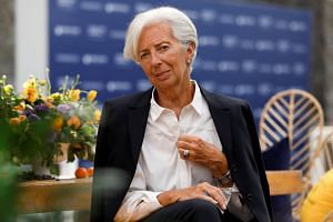 """International Monetary Fund chief Christine Lagarde said the global economy is at a """"delicate juncture"""" which requires central banks to maintain stimulus and governments to resolve trade disputes quickly."""