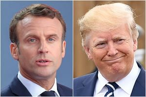 French President Emmanuel Macron and US President Donald Trump had been openly hostile following a diplomatic fiasco in November last year. However, they have since rebuilt the relationship.