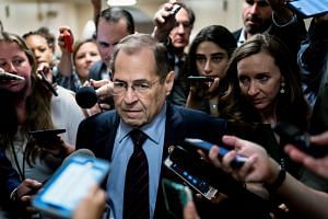 House Judiciary Committee chairman Jerrold Nadler speaking to reporters after a meeting of the House Democratic Caucus on June 4, 2019.