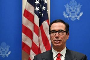 US Treasury Secretary Steven Mnuchin (above) said the US-China trade dispute was at a similar point in December 2018, when US President Donald Trump and Chinese President Xi Jinping met on the sidelines of a G20 summit.