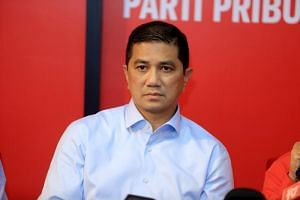 Malaysian Economic Affairs Minister Azmin Ali has strongly denied he was one of two men engaged in a sex act in a video.