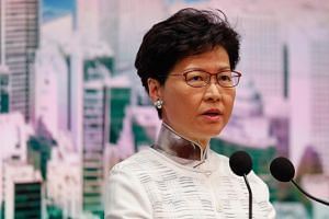 Hong Kong leader Carrie Lam said in a press conference on June 15, 2019, that the Bill to allow extraditions to mainland China was put on hold.