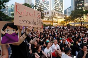 A rally in Hong Kong against the extradition Bill. If Hong Kong evades its responsibilities by refusing to help other jurisdictions to pursue criminal suspects, the writer says, it will result in a breakdown of trust. PHOTO: REUTERS