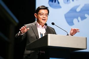 Deputy Prime Minister and Finance Minister Heng Swee Keat encouraged people to look beyond the immediate issues that need solving, and think harder about Singapore - such as what it might look like when it turns 100.