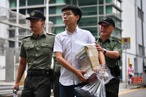 Joshua Wong, the student leader who became the face of Hong Kong's Umbrella Movement democracy protests in 2014, was released from prison on Monday (June 17) morning.