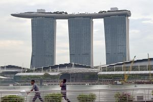 Chong Wee Yew is accused of repeatedly outraging a 28-year-old woman's modesty at Marina Bay Sands.