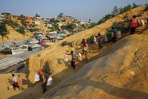 Today some 740,000 Rohingya are living in camps in Bangladesh after fleeing Myanmar's northern Rakhine state during a 2017 military campaign the UN has described as ethnic cleansing.