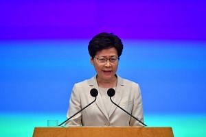 Hong Kong Chief Executive Carrie Lam also said she is saddened by the fact that some people were injured in the conflicts.