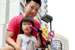 Johnboy John Teo, with his daughter Ashley Clare Teo, in a picture posted on social media.