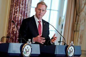 Mr Patrick Shanahan had served for six months as acting defence secretary.