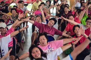 The average Singaporean enjoys the longest span of living in good health - 74.2 years.