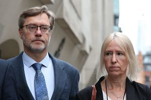 Organic farmer John Letts and former charity fundraiser Sally Lane tried to send £1,723 (S$3,000) to their son, despite multiple police warnings not to.