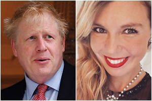 The tiff apparently involved Boris Johnson, a former foreign secretary, spilling red wine on a couch in the home of his girlfriend, Carrie Symonds, a public relations executive, according to the Guardian newspaper.