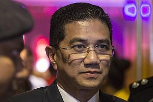 Datuk Seri Azmin Ali (left) will not be responding to the challenge by Mr Haziq Aziz, said the minister's lawyer in a Twitter post.