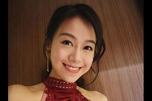 Finding Her Voice, where Jacqueline Wong (above) has a leading role, was also scheduled to be reshot, with actress Kaman Kong one of the candidates to replace her in the TV serial, though TV producer Wong Wai Sing has since confirmed with the Hong Ko