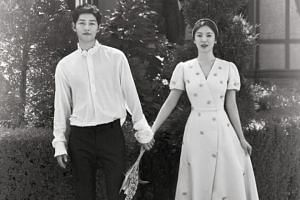 Song Joong-ki and Song Hye-Kyo tied the knot in 2017. They met while playing lovebirds in the hit military romance Descendants of The Sun in 2016.