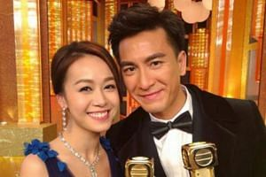 TVB actress Jacqueline Wong has reportedly asked her boyfriend Kenneth Ma to spend his month-long leave with her in the US.