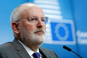 The nomination of Dutch socialist Frans Timmermans for EC president split the bloc.