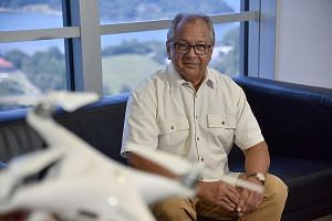 Mr Timothy de Souza, who chairs the Unmanned Aircraft Systems Advisory Panel, said that dealing with drone incursions in a tight and busy airspace like Singapore's can be tricky. ST PHOTO: JASMINE CHOONG