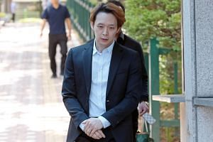 Park Yoo-chun was accused of buying and taking drugs with ex-fiancee Hwang Ha-na, a socialite, on six occasions in 2019.
