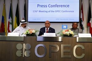 Opec agreed on Monday to extend oil supply cuts until March 2020.