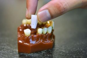 Researchers at the National Dental Centre Singapore have developed an enhanced bioresorbable 3D-printed dental plug which promotes bone growth in the jaw, reducing the chances of bone shrinkage after an extraction.