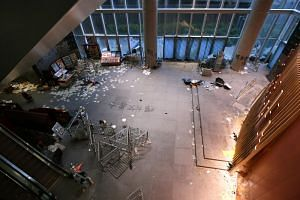 A mob of protesters stormed Hong Kong's Legislative Council building, where they vandalised and trashed the place, on July 1, 2019.
