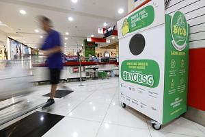 From July 3, 2019, members of the public can drop their unused reusable bags into a donation bin at eight supermarket outlets.