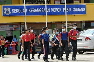 Mr Mohd Khuzzan Abu Bakar said the authorities were still baffled by what was causing students in Pasir Gudang to experience vomiting and dizziness.