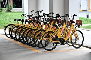 Bike-sharing start-up Moov Technology bought and refurbished bikes from ofo after being granted a sandbox licence to run up to 1,000 bicycles here.