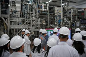 GSK's new $130 million pharmaceutical manufacturing facility in Pioneer was developed as part of the GSK-Economic Development Board 10-year Singapore Manufacturing Roadmap.