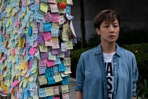 Denise Ho, a Cantopop singer, is just one of many high-profile figures in the decentralised protest movement, but among Hong Kong's celebrities, she is a rare breed.