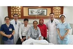 Dr Sutopo Purwo Nugroho (centre) died early on July 7 at a hospital in Guangzhou, China, where he was undergoing treatment for cancer, which had spread to his bones and several vital organs. He is survived by his wife and two children.