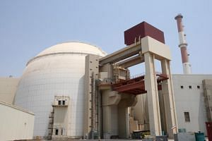 An Iranian nuclear power plant in Bushehr, southern Iran. Iran has said it would resume purifying uranium beyond the 3.67 per cent allowed under the 2015 agreement.