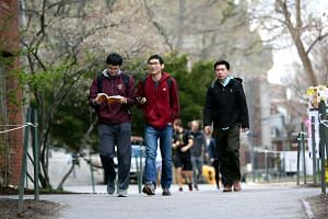 China accounts for nearly a third of foreign students on US campuses, but in March, their numbers dropped for the first time in a decade.