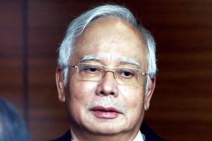 Former Malaysian Prime Minister Najib Razak is facing 25 corruption charges involving RM2.28 billion (S$750 million) allegedly from 1MDB funds.