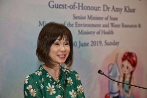 Senior Minister of State for Health Dr Amy Khor said Singaporeans had a life expectancy of 84.8 years in 2017, of which 74.2 were lived in full health.