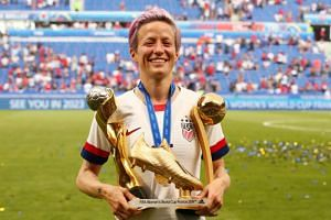 Star striker Megan Rapinoe had vowed prior to the United States' Women's World Cup victory to stay home if President Donald Trump invited the team to Washington.