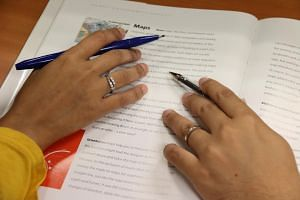 A couple's hands with wedding rings. The voluntary quiz aims to check if couples are properly matched with each other before tying the knot.