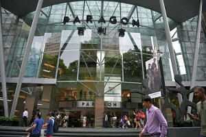 SPH Reit currently owns Paragon Mall (above), The Clementi Mall and The Rail Mall in Singapore and has an 85 per cent stake in Figtree Grove Shopping Centre.