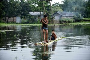 Thousands have been rendered homeless by heavy monsoon rains in India's north-eastern state of Assam.