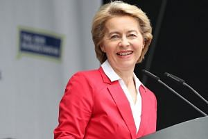 German defence minister Ursula von der Leyen (pictured) will replace Jean-Claude Juncker as president of the European Commission if she secures a majority in the Strasbourg assembly.
