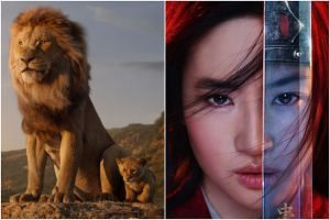 The Lion King and Mulan, films that have been revived from their predecessors.