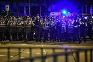 Hong Kong's 32,000-strong police force has found itself in the firing line of public anger. Among those singled out for specific retribution are a small group of expats who were some of the commanding officers on the front lines during clashes with p