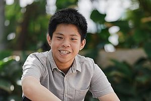 Mr Teo Chuan Kai, from Singapore Polytechnic, is one of 29 PSC scholarship recipients who have chosen to study locally. The 19-year-old will go to the National University of Singapore.