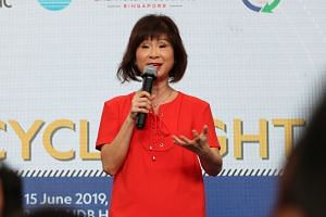 """Senior Minister of State for the Environment and Water Resources Amy Khor said that climate change and environmental protection are """"complex and multifaceted problems""""."""