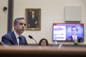 David Marcus, chief executive officer of Facebook's Calibra digital wallet and cryptocurrency Libra, testifies before a House Financial Services Committee hearing on July 17, 2019.